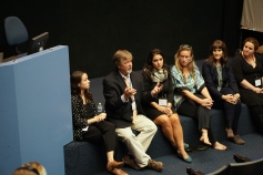 The panel at Respecting Autism, Sept. 27th